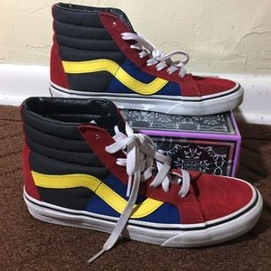 Vans High Tops Skateboard Shoes Men's Size 5.5
